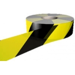 Black & Yellow Polythene Barrier Tape Image