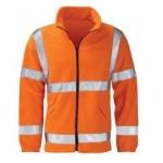 EN471 Class 3 Fleece Jacket Orange Image