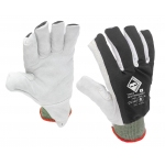 Lightweight FR Backed Cut 5 Leather Palm Glove Image