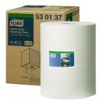 Tork Premium White 530 Multi Purpose Wiper Roll Image