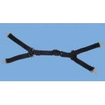 LINESMAN 4 POINT CHINSTRAP HARNESS- PK/10 Image