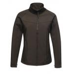 Black Regatta Ladies Uproar Softshell Jacket Image