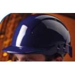 Concept Unvented Full Peak Helmet Hi-Vis  Image