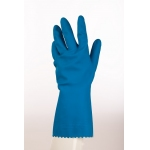 Mediumweight Natural Rubber Flock Lined Glove - Pack 12  Image