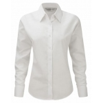 Ladies Russell Long Sleeve Shirt Image