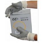 Cotton polka dot glove mens - Pair Image