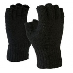 Half finger thermal glove mens  Image