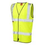 EN533 Limited Flame Spread Waistcoat Yellow Image