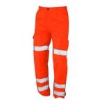 High Vis Orange Ballistic Trouser Image