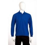 Premium Long-Sleeved Poloshirt Image