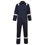 Super Light Weight Flame Retardant Anti-Static Coverall 210gsm Image