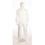 Supertex SMS Coverall - White Image