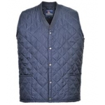 Quilted Body Warmer Navy Image