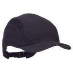 Full Shell Reduced Peak Bump Cap Black Image