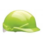Centurion Reflex Mid Peak Helmet Hi-Vis Yellow c/w Silver Flash Image