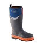 Orange Buckler Wellington Boots  Image
