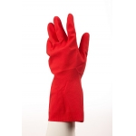Mediumweight Natural Rubber Glove Flock Lined Image