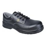 Composite ESD lace up SRC black safety shoe Image