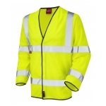 EN 471 Class 3 Sleeved Waistcoat Yellow Image