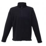 Regatta Quarter Zip Micro Fleece Black  Image