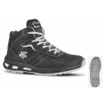 Black Soft Suede safety boot S3 SRC ESD  Image