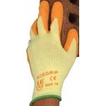 Superior Latex Grip Glove Orange  Image