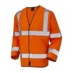 EN471 Class 3 Long Sleeve Waistcoat Orange Image