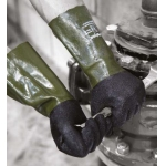 Polyco Grip It Oil C5 double dipped Gauntlet Image