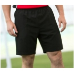 Finden and Hales mens black microbibre shorts Image
