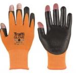 Traffiglove 3 Digit 3 Orange Image