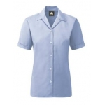 Premium Oxford Short Sleeved Blouse Image