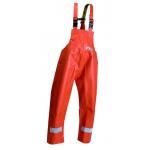 Orange Heavy weight Oil Resistant Waterproof Bib Trousers Image