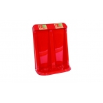 Double fire extinguisher stand Image