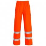 Unlined Orange Waterproof Trousers Image