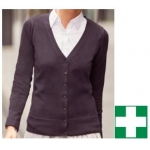 Ladies Cardigan with 1st Aid Logo Image
