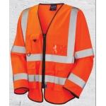 Long sleeved executive hi-vis vest  Image