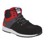 Rebel Air Tubeless Trainer Boot Black/Red  Image
