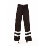 Nusafe Multi-Functional Combat Trouser Navy With Hi Vis Banding Image