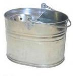 Galvanised Metal Mop Bucket Image