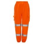 Hi Vis Orange EN471/GORT3279 Jogging Bottoms  Image