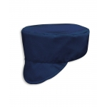 Navy cotton drill cap Image