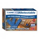 Aeroplast Detectable Plasters  7.5 x 2.5cm - Box 100 Image