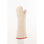 43cm Triple Layer Seamless Cotton Mitten - Pair Image