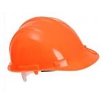 Hi Vis Safety Helmet Orange Image