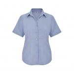 Disley Short Sleeve Ladies Oxford Blouse  Image