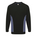 Contrast Sweater with Next Embroidered Logo Image