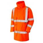 Waterproof breathable lightweight hi-vis Orange anorak  Image