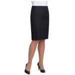 Ladies Straight Black Dress Skirt Image
