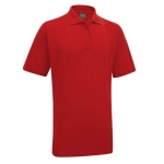 PD Ports Red Poloshirt with PD/Stretch embroidery Image