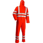 Microflex Hooded Coverall Hi Vis Image